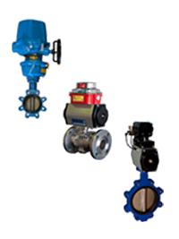 KDV 1/4 turn actuators