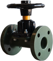 KDV Diaphragm Valve - Halar Coated Straight through type product