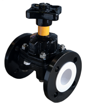 KDV Diaphragm Valve Plastic Lined - Weir type product image