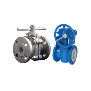 KDV Plastic Lined Ball/Plug Valves