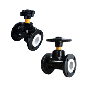 KDV Plastic Lined Diaphragm Valves 1