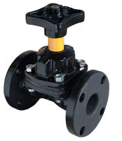 KDC Diaphragm Valve Rubber Lined - Weir type product image