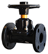 KDV Diaphragm Valve Rubber Lined - Straight through type Product