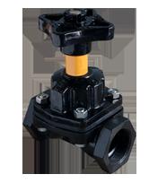 KDV Diaphragm Valve Screwed - Weir type / Product image