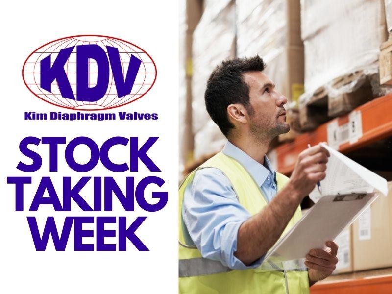 Stock Taking 2021- KDV Australia Banner