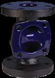 KDV Weirtype Diaphragm Valves -Glass Lined Body