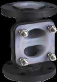 KDV Weirtype Diaphragm Valves -Plastic Lined Body