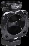 KDV Weirtype Diaphragm Valves - Screwed Body