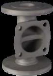 KDV Weirtype Diaphragm Valves -Unlined Body